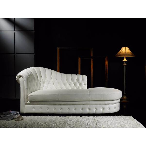 Salon Chesterfield Cuir Zahradeco: Meridiennes