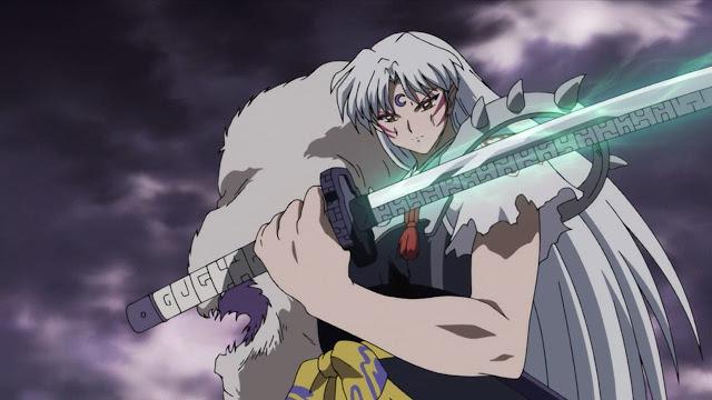 pedang bakusaiga sesshomaru