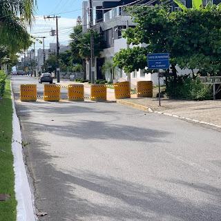 Coronavírus:Barreiras na entrada de Balneário Camboriú