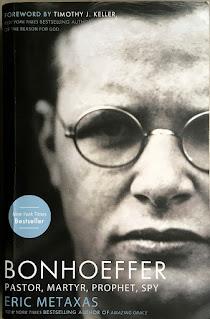 Book cover of Bonhoeffer by Metaxas
