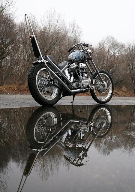 Harley Davidson Panhead 1964 By Wrecked Metals Hell Kustom