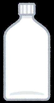 空の試薬瓶のイラスト2