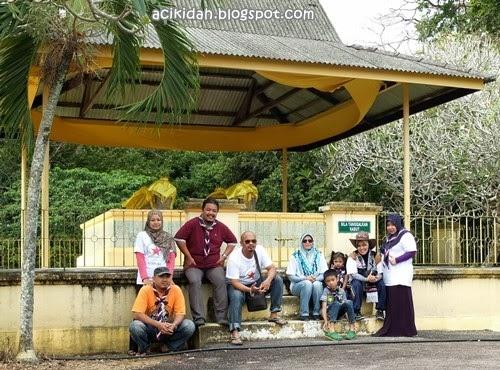 Makam Sultan Alauddin Riayat Shah Pagoh.