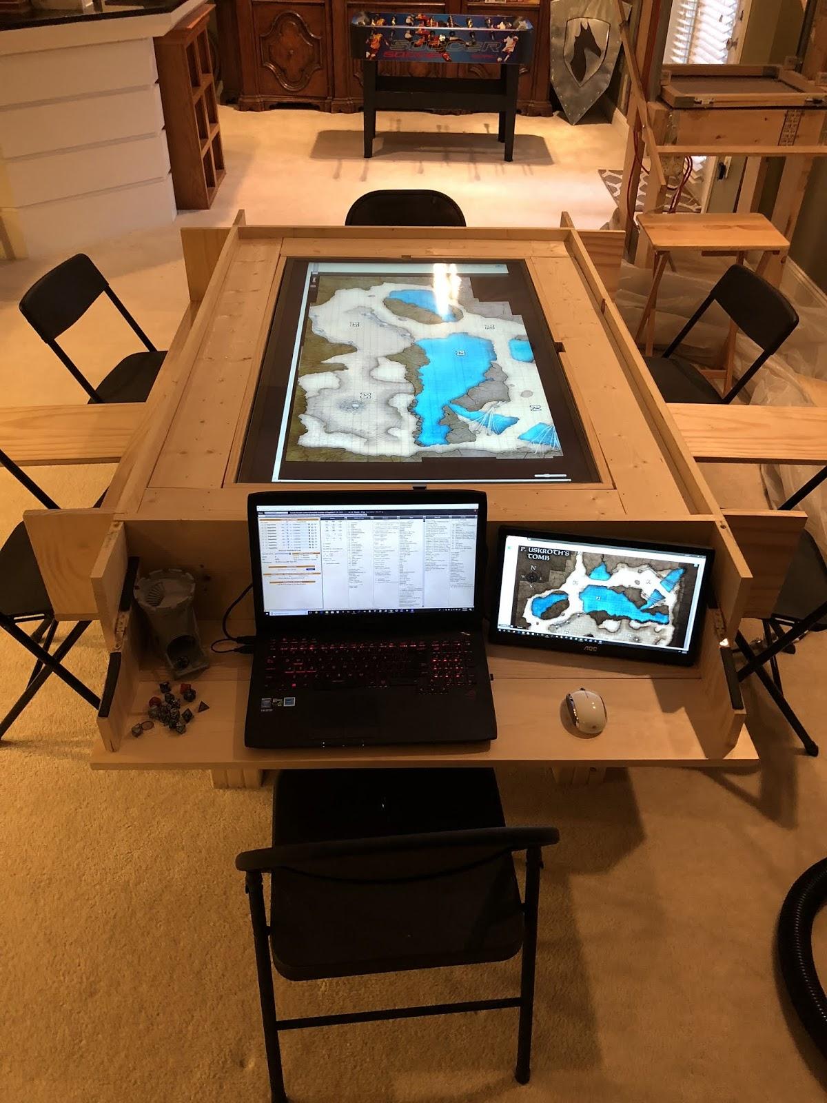 Parts And Krafts Diy Gaming Table Wip