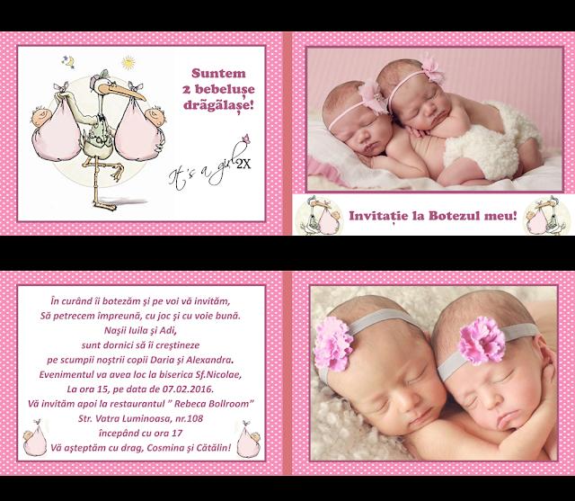 set botez gemeni bebeluse