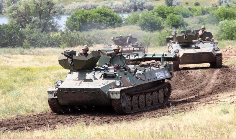 створення поворотної платформи з 12,7-мм кулеметом ДШКМ та бронезахистом кулеметника для МТ-ЛБ 14-ї механізованої бригади