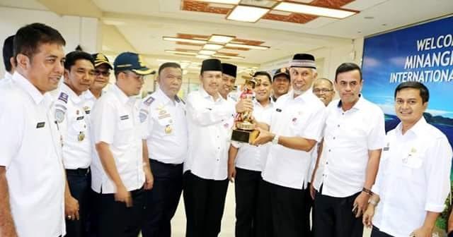 Kota Padang Terima Penghargaan WTN Ketiga Kalinya