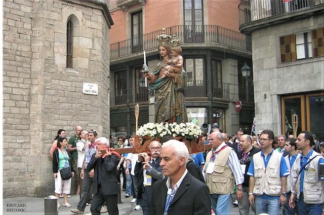 Pelegrinatge Bonaria Sardenya Santa Maria del Mar 2009