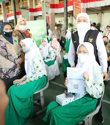 sma khadijah surabaya vaksinasi
