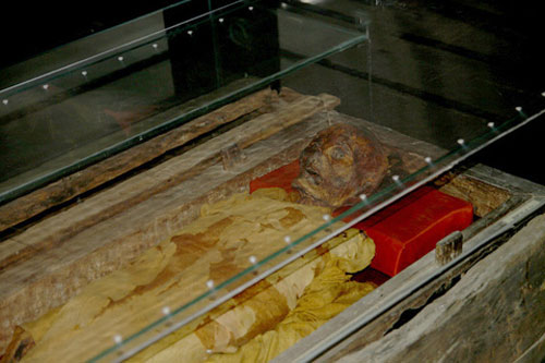 The secret of the mummy at Vietnam History Museum