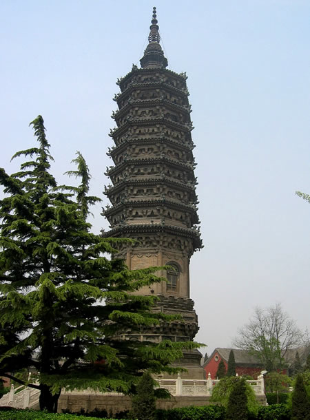 Pagoda built on Jin Dynasty era