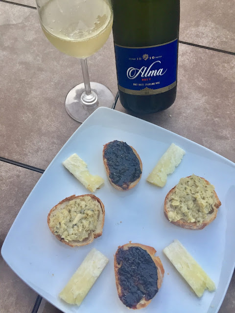 Brazilian sparkling wine food pairing with Salton winery