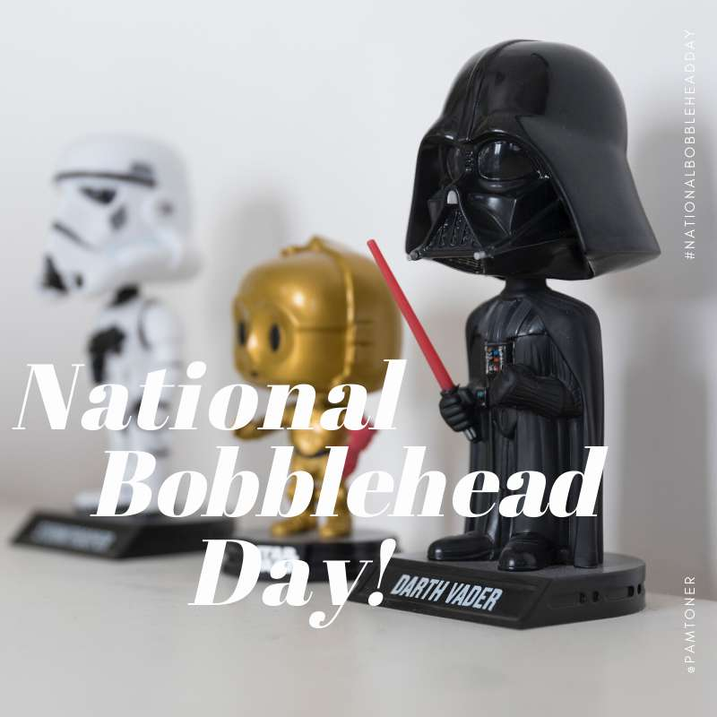 National Bobblehead Day Wishes Unique Image