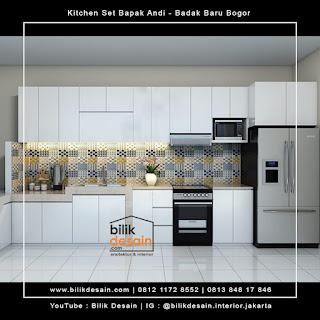 desain kitchen set minimalis kedung badak bogor