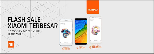 flash sale xiaomi