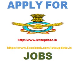 Indian air force jobs-letsupdate
