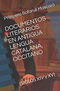 Documents literaris antiga llengua catalana, occitan