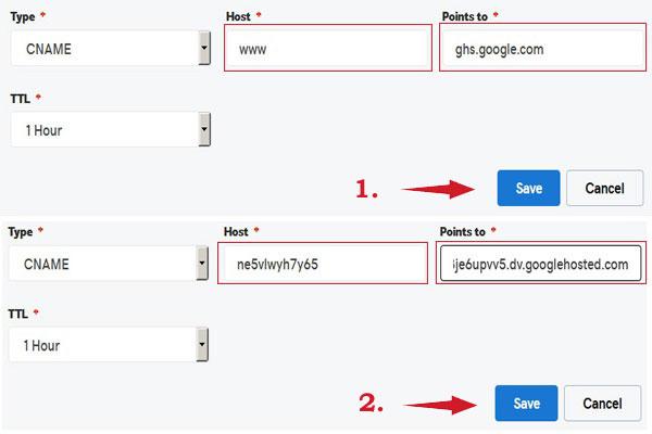 DNS-CNAME-Configuration