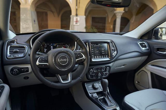 Compass e Renegade híbridos: vendas iniciadas - Europa