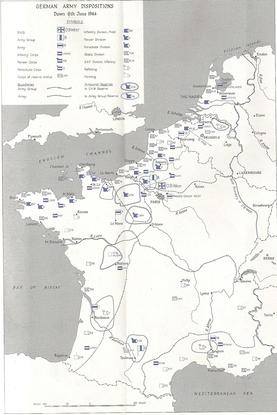 1600 Map Normandy
