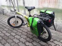 Tren Gowes dengan Sepeda Lipat