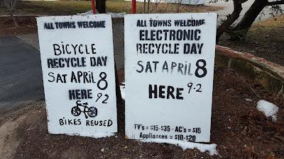 Electronics Recycling - Sat - April 8