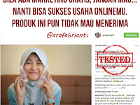 Marketing Online Shop Gratis, Jangan Mau