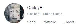 CaileyB Redbubble Profile