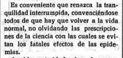 Desescalada 1918