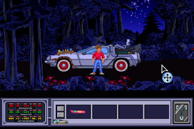 Fangame Back to the Future Part III - Timeline of Monkey Island