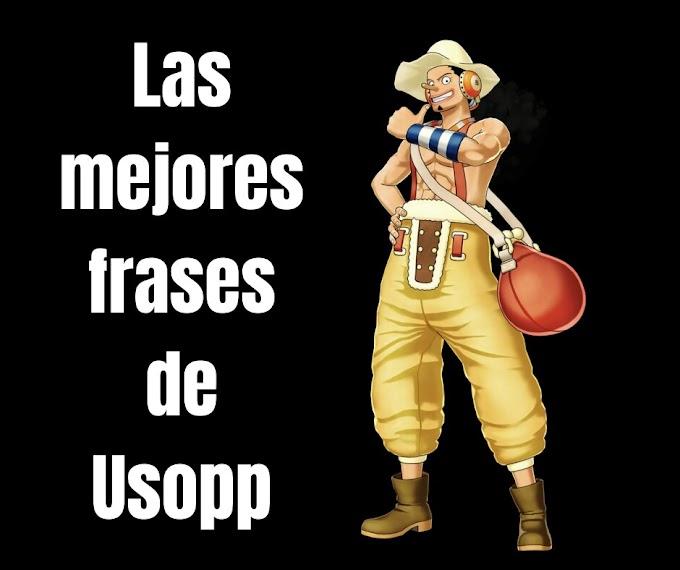 Las mejores Frases De Usopp, One Piece