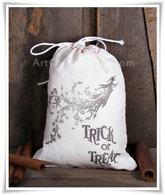 Trick or Treat Bag Fabric Crafts