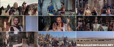Salomón y la reina de Saba (1959) Solomon and Sheba - Película completa online