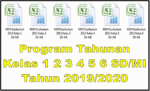 Program Tahunan Kelas 1 2 3 4 5 6 SD/MI Tahun 2019/2020 - Homesdku