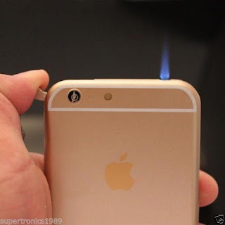 iPhone 6 Shape LED Torch Dummy Mobile Cigarette Lighter alooflook.com