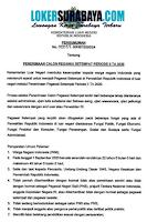 Penerimaan Calon Pegawai Setempat di Kementerian Luar Negeri Periode II TA 2020