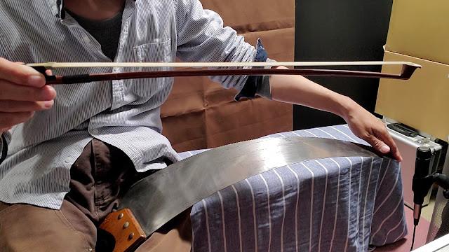 バイオリン弓です