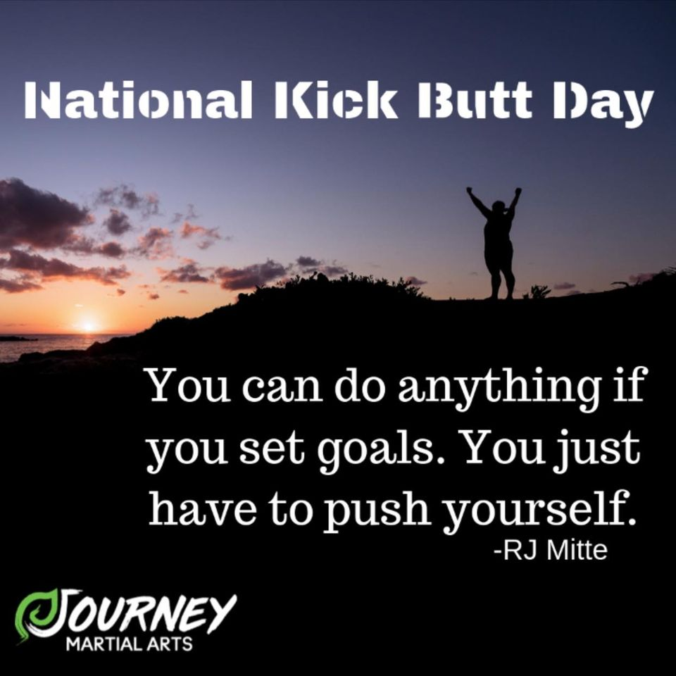 National Kick Butt Day Wishes Beautiful Image
