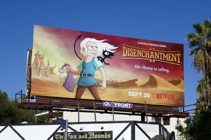 Disenchantment season 2 billboard