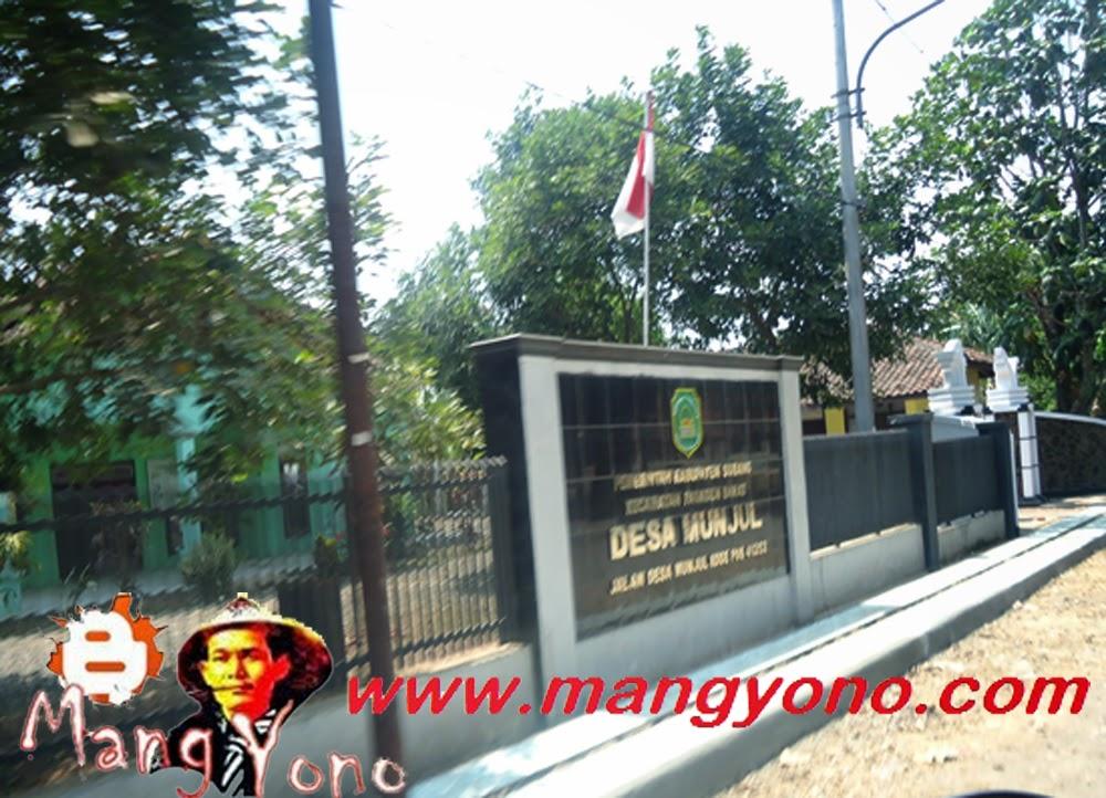 Kantor Desa Munjul, Kecamatan Pagaden Barat, Kabupaten Subang.