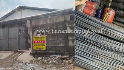 Info: Gudang Penampung Sejumlah Jenis Bangunan Illegal di Kelurahan Binawidya Perlu Diusut