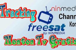 Cara tracking satelit Chinasat 11 (Ninmedia Freesat)