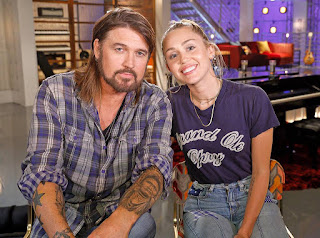 image result for miley cyrus and dad billy ray cyrus