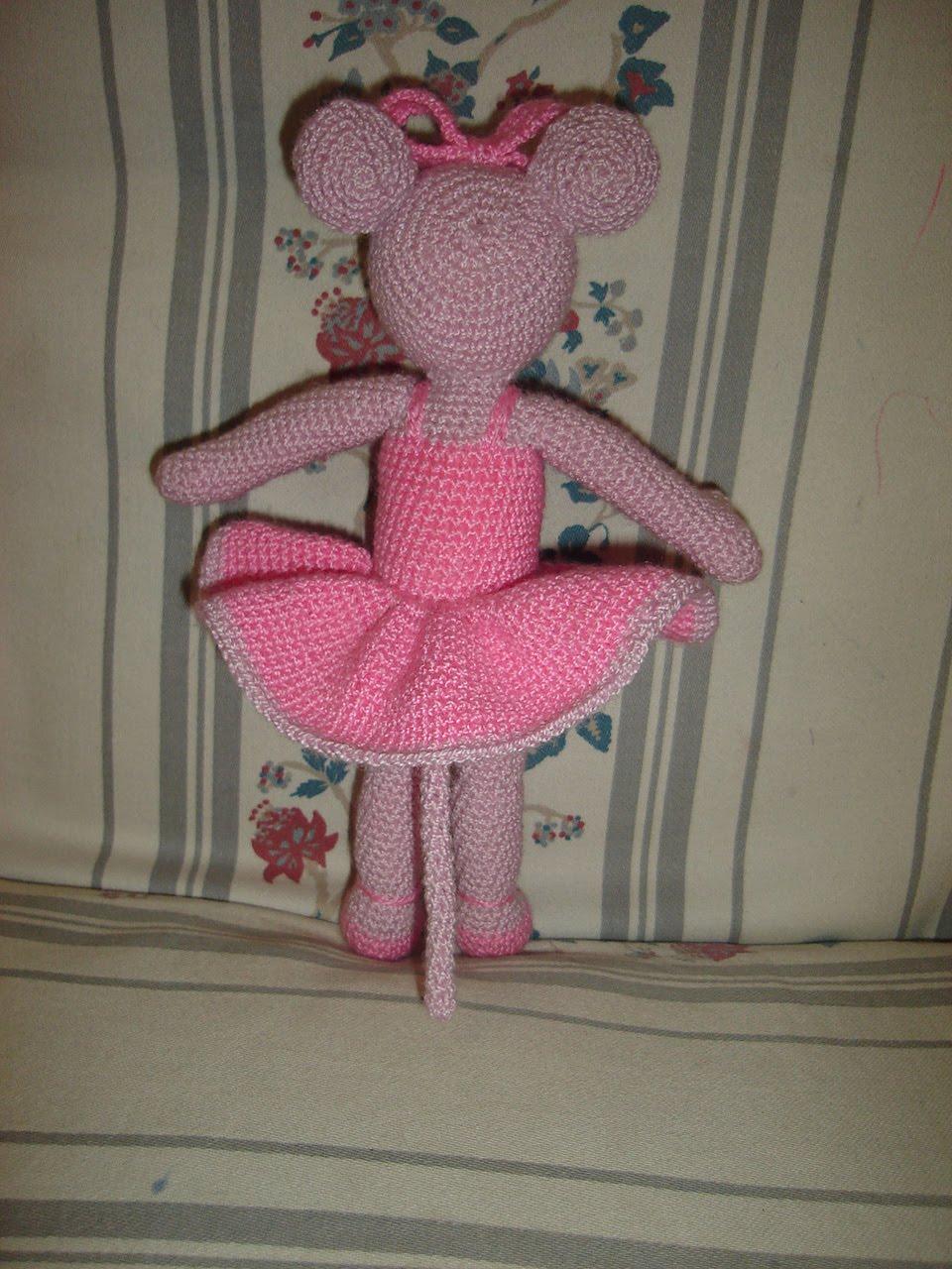 Patrón Amigurumi angelina ballerina | Muñecos de ganchillo ... | 1280x960