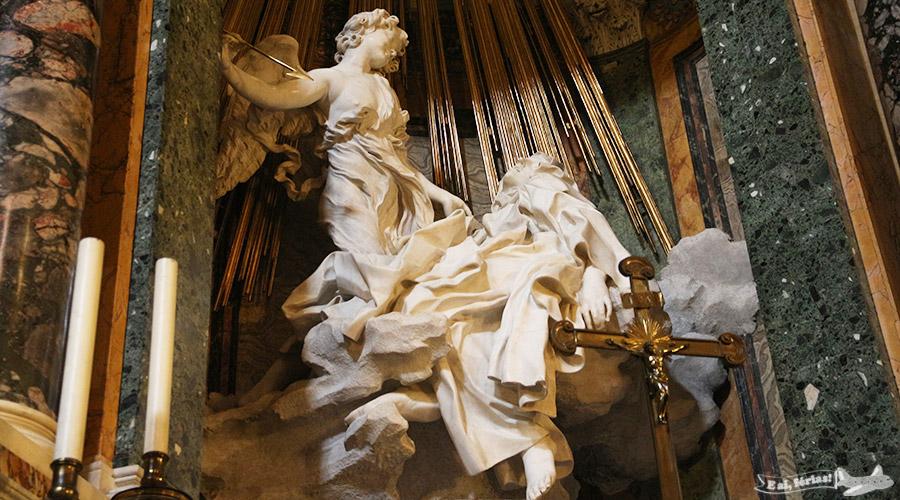 O Êxtase de Santa Teresa, de Bernini.