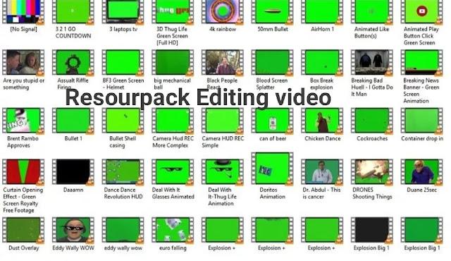download bahan edit video youtube lucu