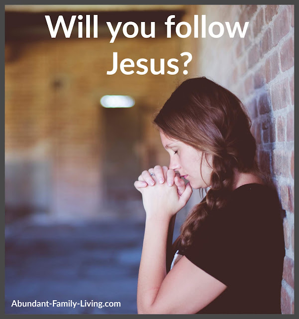 Salvation - Will you follow Jesus?