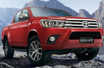 Toyota Hilux 2017 HD image