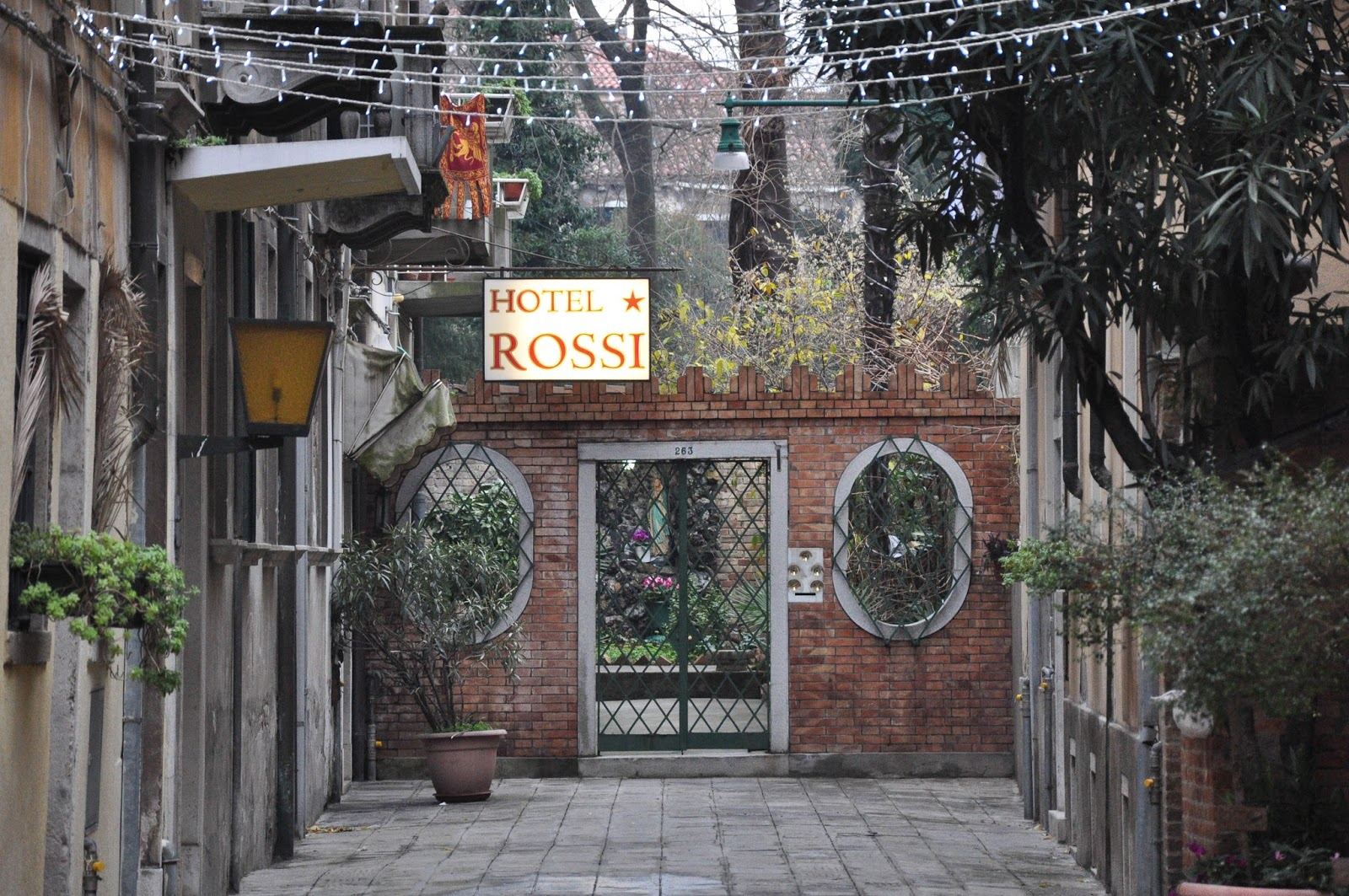 Hotel Rossi, Venice, Italy