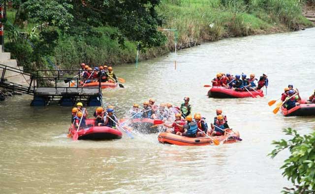 tips berwisata arung jeram way besai rafting